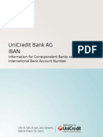 IBAN Flyer for Banks