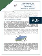 Modelisation Du Comportement Des Composites2 3 Les Poutres Stratifiees Ens