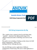 Drill String Components by Rig v2 082207