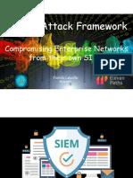 SIEMs Framework Webinar