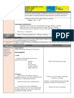 Sample detailed Lesson Plan in Science VI