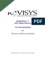 Bridge Master User Manual