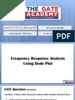 6. Frequency Response Analysis Using Bode Plot