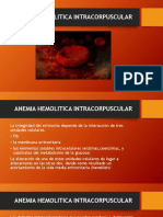 Anemia Intracorpuscular