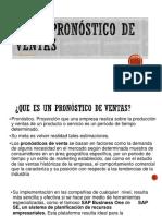 2.2.4 Pronostico de Ventas
