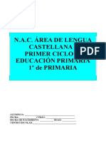 NAC lengua castellana 1er ciclo primaria