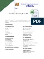 Curso de Excel Avanzado y Macros VBA