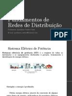 Fundamentos de Redes de Distribuição