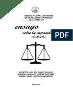 ENSAYO CAPACIDAD DE HECHO.docx