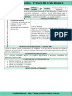 2. Plan 5to Grado - Bloque 1 Matemáticas (2016-2017)