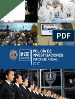 PDI informe anual 2017