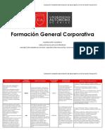 Rúbricas Corporativas FG-2017