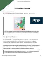 1 Historia de Los Costos en Contabilidad - GestioPolis