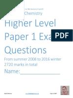 Paper 2 - Question Bank