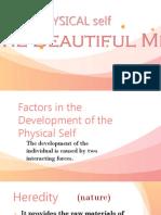 Module 3 Physical Self the Beautiful Me