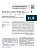 8. Automated Sensing of Hydroponic Macronutrients Using Acomputer-controlled System With an Array of Ion-selective Electrodes