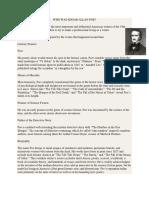 Edgar Allan Poe Info