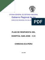 San Jose tiajes hospitalario