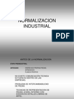 Tema 1 La Normalizacion Industrial