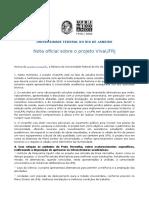 Nota Oficial Sobre o Projeto VivaUFRJ