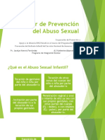 Taller de Prevención Del Abuso Sexual