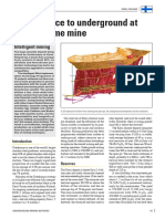 063 From Surface to Underground at Kemi Chrome Mine