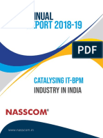 NASSCOM Annual Report 2018-19