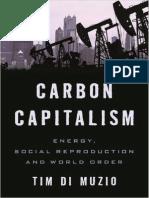 Carbon Capitalism Energy Social Reproduction