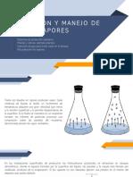 RECOLECCIÓN Y MANEJO DE LA PRODUCCIÓN DE HIDROCARBUROS - MANEJO DE VAPORES