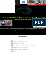 Mali_Restitution Etude Mobile Money_Atelier CNSMO