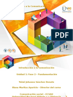Fase 2- Fundamentación - Comunicación Desde El Entorno