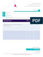 Formato Invoice