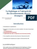 Logistique Et Attractivité Des IDE