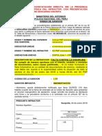 Modelo 2a.- Orden de Sancion Con Descargo Escrito - Copia
