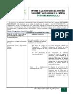 Informe Mensual de Comite Febrero 2019