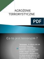 ZAGROŻENIE TERRORYSTYCZNE edb
