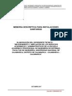 Memoria descriptiva Inst. Sanitarias.pdf