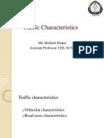 Traffic Characteristics Mai
