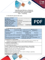 Activity Guide and Evaluation Rubric - Task 4 - Speaking