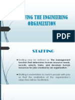Engineering Management Report(Satffing)