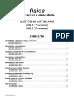 Física - Oscilações e Ondulatoria - Vestibulares 2019