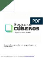 Brochure Propuesta Clientes Seguros Cuberos Santiago Arias