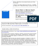 Bateman Fonagy 2008 Mentalization Based Treatment for BPD