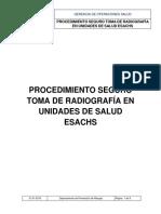 Procedimiento Rayos X