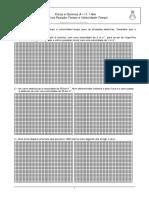 Ficha Revisão Gráficos X-t e v-t
