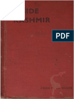 Bazaz, Prem Nath. (1941). Inside Kashmir