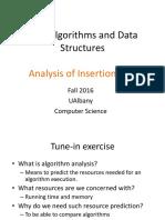 02-Analysis of Insertion Sort