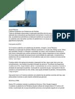 A Plataforma de Petróleo