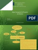 Mapa Conceptual de Proyectos de Sistemas