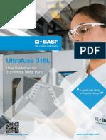 BASF Ultrafuse 316L User Guidelines